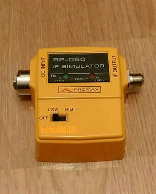 Simulador FI satélite Promax RP 050 A