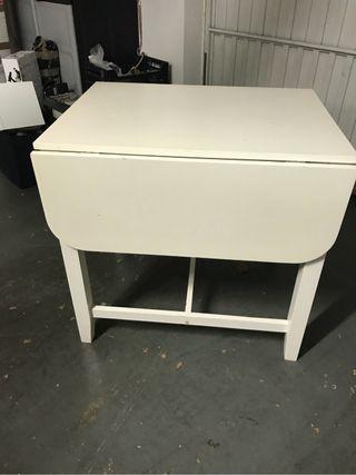 Mesa cocina blanca