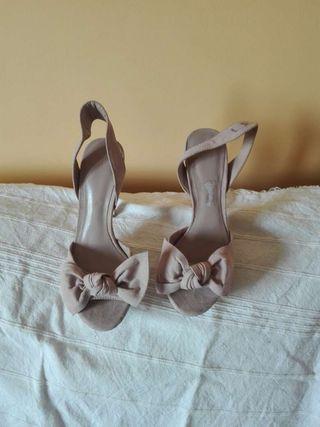 Zapatos abiertos de Mango