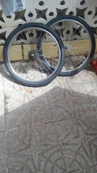 ruedas mountain bike 24""