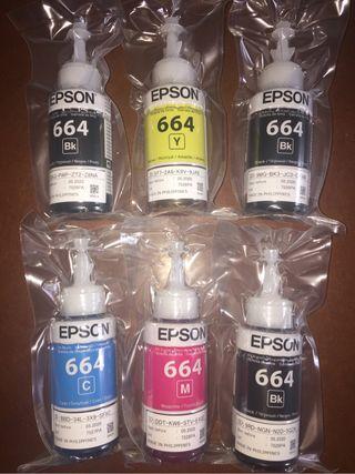 Tintas originales EPSON 664 EcoTank 420ml