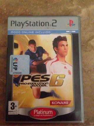 Videojuego play 2 Pes6