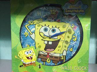 Reloj pared Bob Esponja