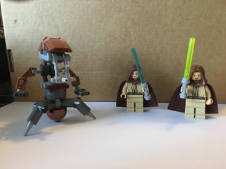 Figuras Lego Star Wars Episodio I Amenaza Fantasma