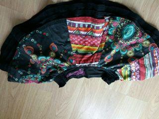 falda desigual original. t.5-6