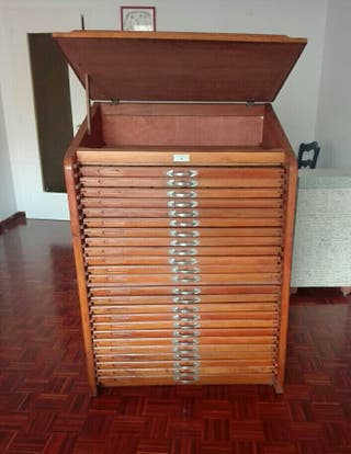 Mueble de Tipografo.