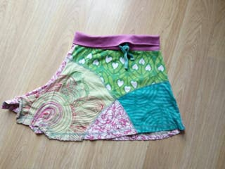 falda desigual t 2-3