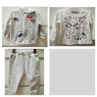Chandal+camiseta Zara_6/9 meses 74cm