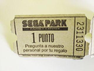 puntos sega park