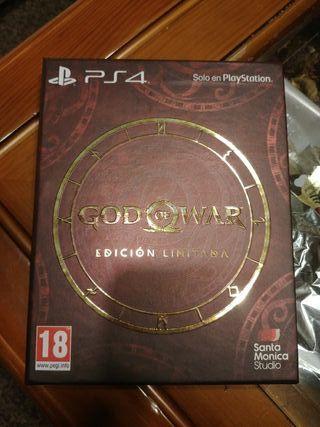 God of War edicion limitada ps4