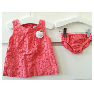 Vestido+Culetin Boboli 3/6 meses 68 cm