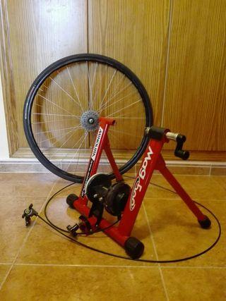 rodillo con rueda