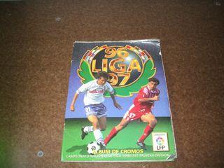 álbum cromos fútbol liga 96/97