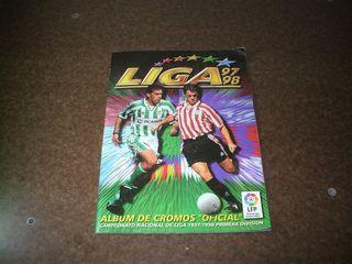 álbum cromos liga fútbol 97/98