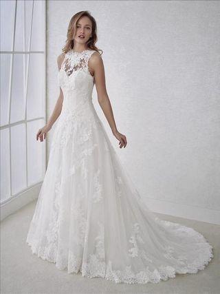 vestido de novia de segunda mano en avilés en wallapop
