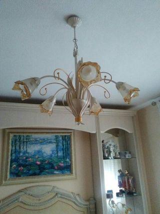 Lampara Habitacion y lamparas de mesilla