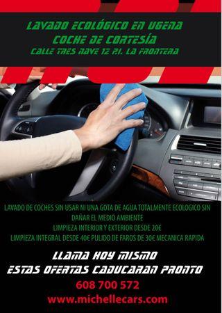 LIMPIAMOS TU AUTO