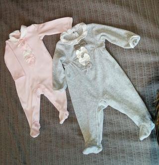 Pijamas bebe niña PRENATAL. NUEVOS.