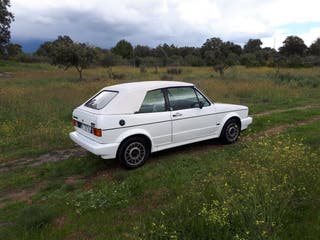 Volkswagen Golf Cabrio Blanco. Impecable. Año 1988