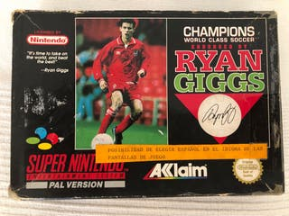 Champions Ryan Giggs SuperNintendo