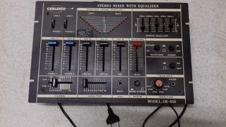Mezclador estéreo con ecualizador Carlenco sSM-808