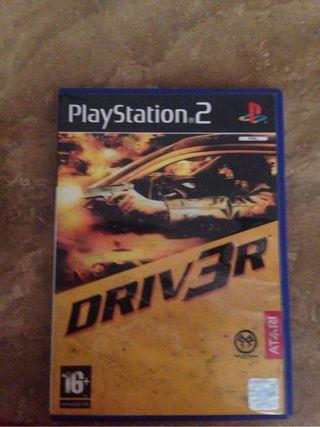 Videojuego play2 driver