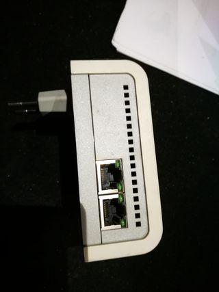 2 amplificadores señal internet por red eléctrica