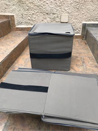 Storage zip boxes