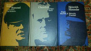 Libros Segunda Gerra Mundial Churchill Rommel Himm