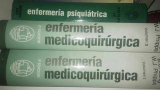 libros enfermería médico quirúrgico
