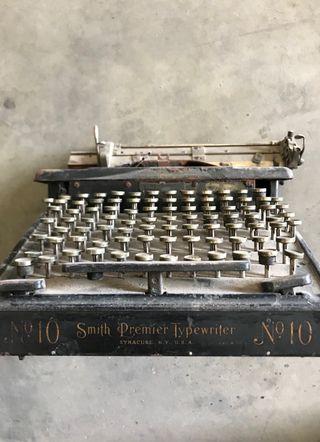 maquina escribir smith premier