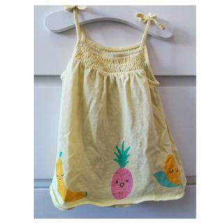 Vestido Zara 6/9 meses 74 cm