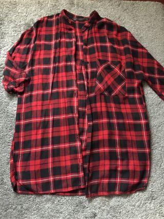 new product fe3b4 2d42d Camisa larga chica