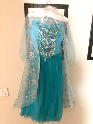 Disfraz Disney Elsa talla 7-8