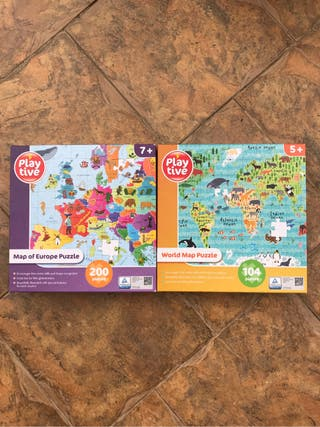 Map puzzles