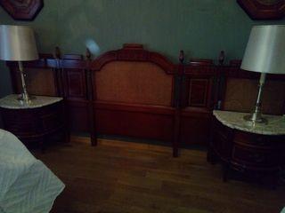 Dormitorio completo Madera de Raíz