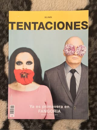 Revista El País Tentaciones Fangoria Alaska