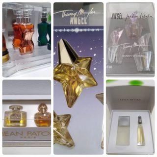 Estuches Miniaturas Perfume Originales