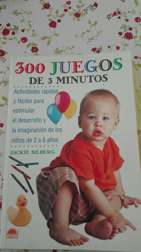 Libro 300 Juegos De 3 Min Para Ninos De 2 A 5 Anos De Segunda Mano