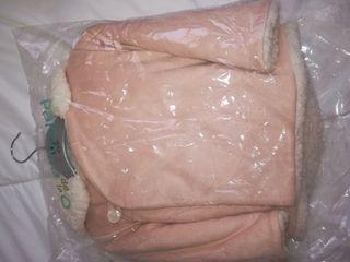 chaquetón rosa paloma o