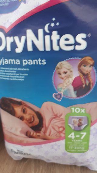 Drynites pyjama pants talla 4-7 años
