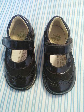 zapatos bebe 20 omega nuevas