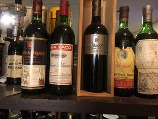 Botellas de vino de coleccion