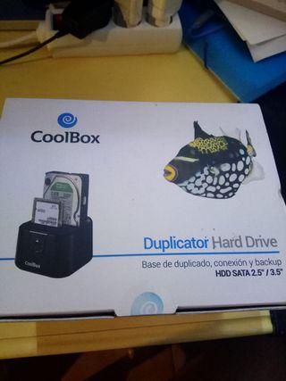 Dock duplicador de discos duros REBAJADO