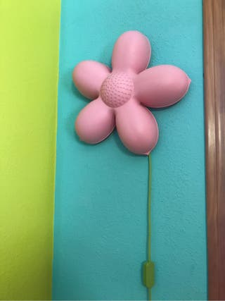 Lámpara de flor