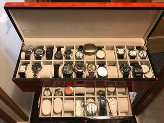 Caja madera para relojes