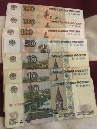 380 rublos rusos originales