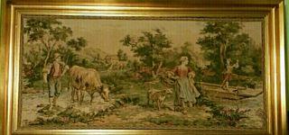 Cuadro Tapiz Antiguo 115 cm x 62 cm