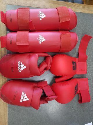 Protecciones Karate ADIDAS