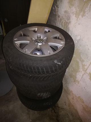 jantas wv.16 pulgadas,con neumáticos de invierno m